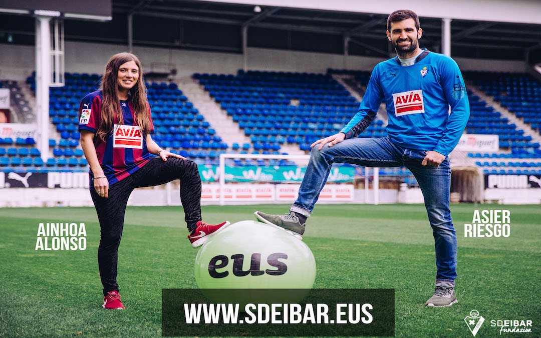 SD Eibar and PuntuEUS join forces to promote Basque use across all ares of sport