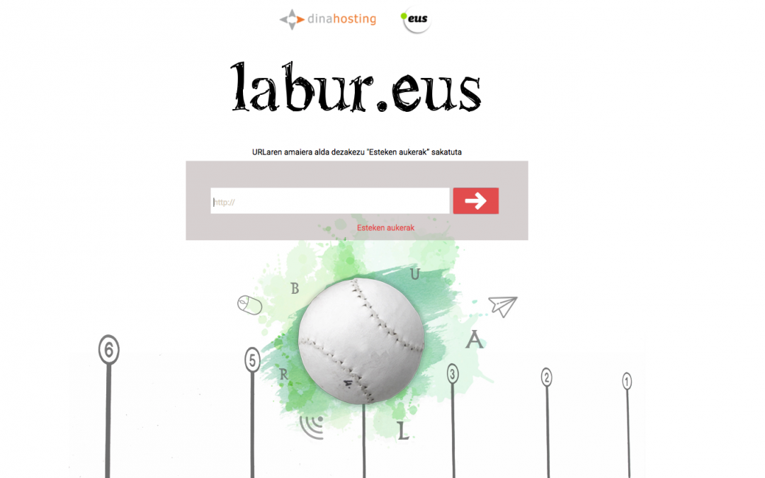 The PuntuEUS Foundation has developed two Internet services: labur.eus and whois.eus