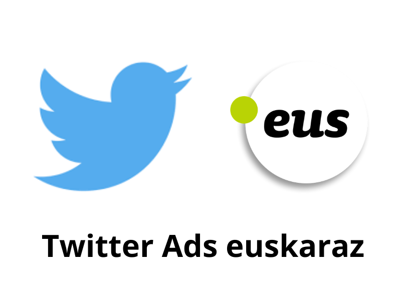 Twitter and the PuntuEUS Foundation agree to facilitate the use of Basque in ads