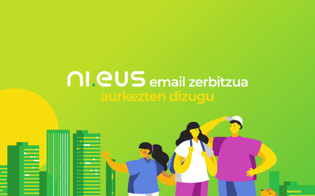 Ni.eus, the email service in Basque that respects privacy
